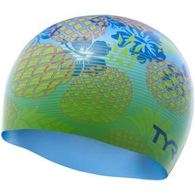 TYR Pineapple Fade Gorra, blue/green
